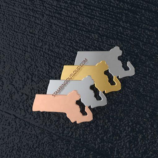 Massachusetts State Stamping Blank