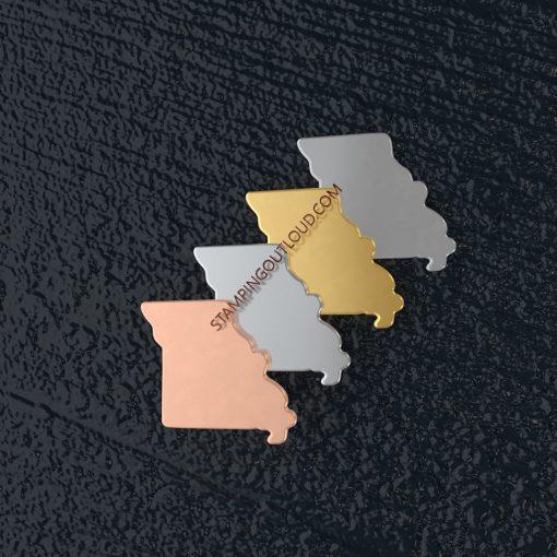 Missouri State Stamping Blank