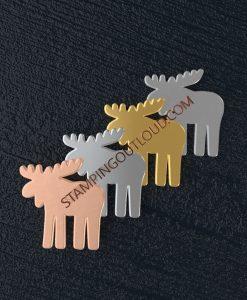Moose Shaped Stamping Blanks
