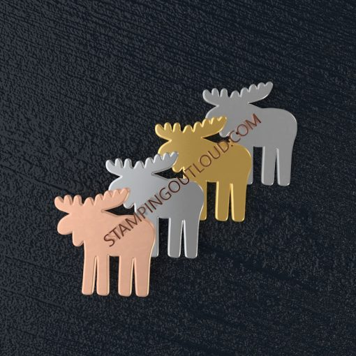 Moose Shaped Stamping Blanks
