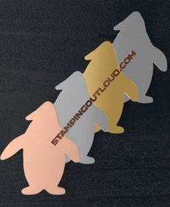 Penguin Shaped Stamping Blanks