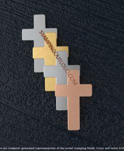 Plain Cross Stamping Blanks