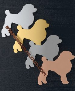Poodle Shaped Stamping Blanks