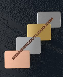 Rounded Rectangle Shaped Stamping Blanks