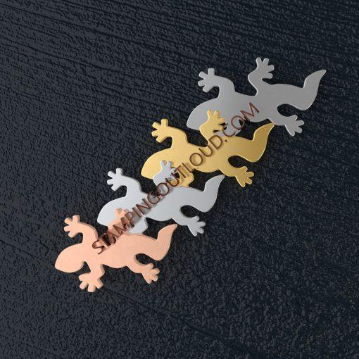 Salamander Shaped Stamping Blanks