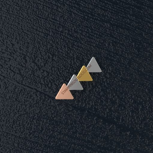 Small Triangle Stamping Blank