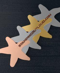 Starfish Shaped Stamping Blanks
