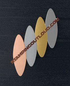 Elongated Oval Shaped Stamping Blanks