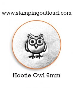 Hootie Owl Metal Design Stamp