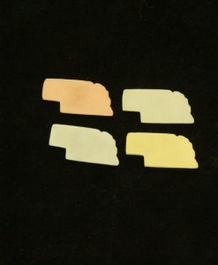 Nebraska State Silhouette Necklace Blanks